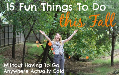 15 fun things to do this fall