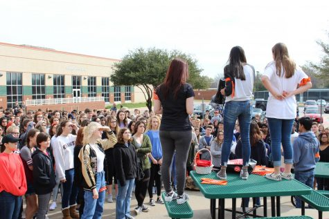 Student led walkout creates conversation