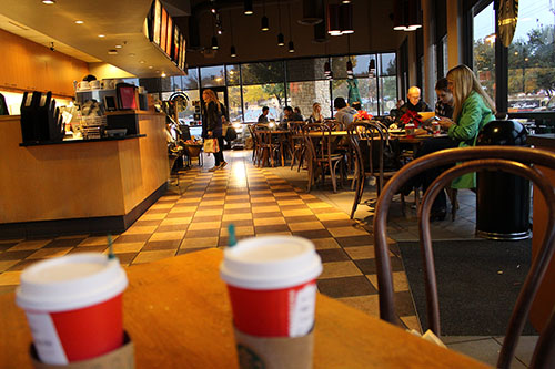 Starbucks to melt the snowflakes
